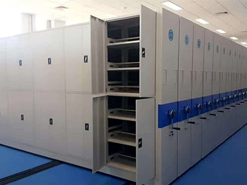实验室密集蜡块柜