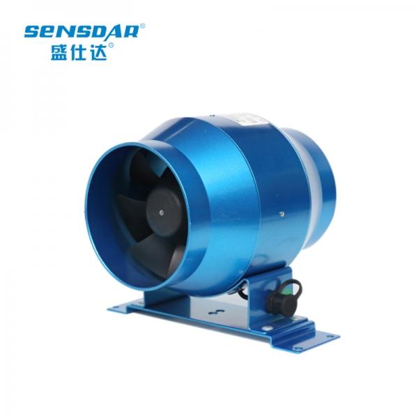 贵州盛仕达管道风机 圆形100/4寸抽风机 大风量换气扇轴流风机