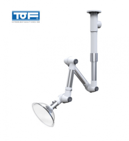 TOF 伟德国际官方网址伟德ios app化验室铝合金万向抽气罩 KP8-3