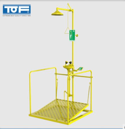 TOF 伟德国际官方网址伟德ios app化验室复合紧急淋浴双口洗眼器 KC22