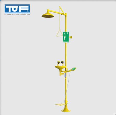 TOF 伟德国际官方网址伟德ios app化验室化验室复合紧急 淋浴双口洗眼器喷淋 KC4